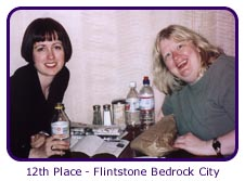 12th Place - Flintstone Bedrock City