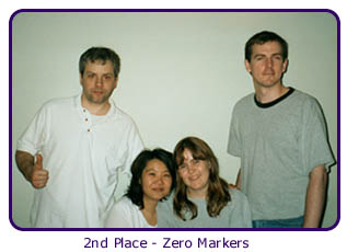 2nd Place - Zero Markers