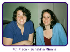 4th Place - Sunshine Miners