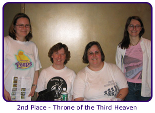 2nd Place - Throne of the Third Heaven