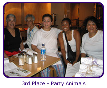 3rd Place - Party Animals