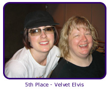5th Place - Velvet Elvis