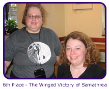 6th Place - The Winged Victory of Samathrea