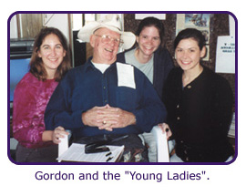 "Gordon and the ""Young Ladies"""